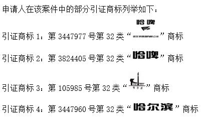 """国知局再次适用《商标法》第十三条第三款对""""哈尔滨""""商标扩大保护"""